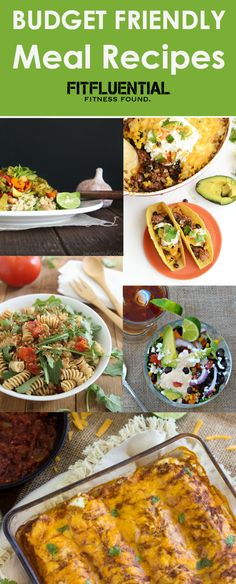 15 Budget Friendly Meals - Healthy Recipes