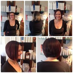 What about this for a transformation? Brilliant before and after pics - well done Billie from our Wick salon, that is one super-happy client!