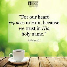 Psalms 33:21