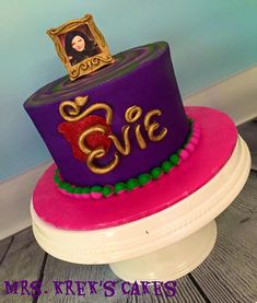 Descendants Cake Mrs. Krek's Cakes - Themed Party Cakes Gallery