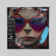Vinyl Gorillaz - Humans, Pig, 2017, 2LP, 180g, HQ, Limited Edition, Picture Disc | Elpéčko - Predaj vinylových LP platní, hudobných CD a Blu-ray filmov Gorillaz, Hip Hop, Hiphop
