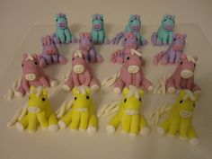 decorated cupcakes | pony decorated cupcakes
