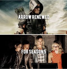 Congratulations to the cast, crew and the fans of Arrow on the renewal for a fifth season!