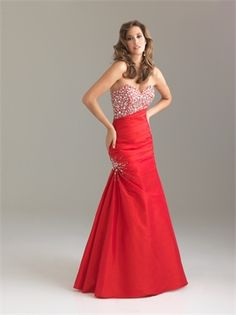 Mermaid Sweetheart Asymmetrical Ruched Beaded Bodice Taffeta Prom Dress PD10804  ----2013 Prom Dresses,Prom Dresses 2013,Prom Dresses,Prom Dresses UK,Prom Dresses 2013 UK,2013 Prom Dresses UK