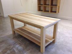Charming Display Table. Jean Store. Poplar Wood.