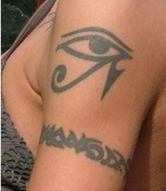 Simple Evil Eye Tattoo