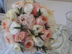 Romantic Wedding Bouquet in pale shades!  #weddingbouquet #weddingbouquets #wedding #bouquet #paleshades #flowers #flowerdesign #flowerdecoration #corfu #νυφικηανθοδεσμη #μπουκετο #νυφικομπουκετο #ανθοδεσμη #λουλουδια #παλχρωματα #στολισμοςγαμου #γαμος #κερκυρα #rizosgarden Wedding Videos, Post Wedding, Floral Bouquets, Floral Wreath, Start Tv, Corfu Holidays, Wedding Window, Beach Bars, Florals