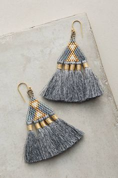 Bluma Project Tri Tassel Earrings