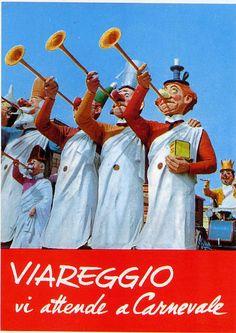 _anni_70_Il carnevale di Viareggio è considerato uno dei più importanti carnevali d'Italia e d'Europa. I carri, che sono i più grandi e movimentati del mondo, sfilano lungo la passeggiata a mare viareggina.