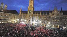 FC Bayern feiert den Meistertitel