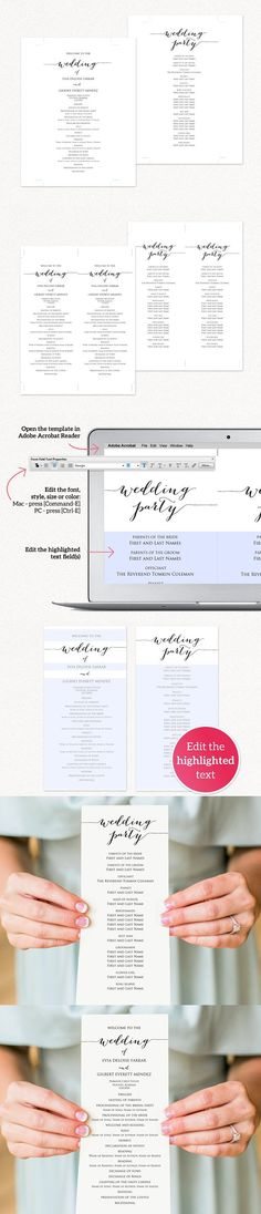 wedding program cover designs Wedding Programs Fast u2013 Wedding - syllabus template