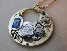 """Doctor Who """"Soul of the Tardis"""" necklace"""
