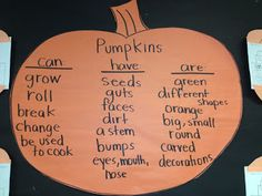 Buggy for Second Grade: Pumpkins, Pumpkins, and Pumpkins...also great website!