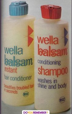 Wella Balsam My mom had me use this not realizing it didn't work for my ultra curly tight curls. But it brings back great memories no matter what.