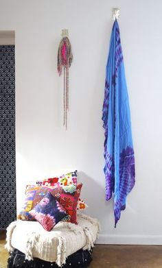 Use this stunning tribal fabric to create some African style! Use for curtains, canopies, table clothes, throws on beds, etc. Hand dyed in Mauritania.