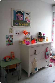vintage kids room love the collection