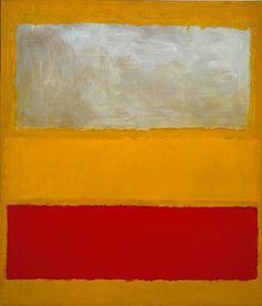 "Mark Rothko (American, born Russia, 1903–1970), ""No. 13 (White, Red, on Yellow),"" 1958. Oil and acrylic with powdered pigments on canvas   95 3/8 x 81 3/8 in. (242.2 x 206.7 cm). Gift of The Mark Rothko Foundation Inc., 1985 (1985.63.5)  © 2011 Kate Rothko Prizel & Christopher Rothko / Artists Rights Society (ARS), New York.  