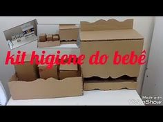 Kit Bebe, Toy Chest, Storage Chest, Toys, 1, Gisele, Youtube, Bathroom Crafts, Easy Crafts