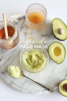 Avocado Face Mask @k