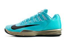 Roland Garros 2014: Nike Lunar Ballistec bleues de Rafael Nadal