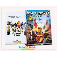 Lego City - Revista para Colorir Personalizada