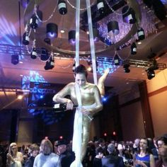 Why not make the champagne service part of the entertainment? J and D Entertainment provides Aerial Bartenders. Indian Wedding, Wedding Entertainment, www.jdentertain.com