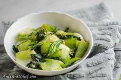 Ginger and Garlic Bok Choy Stir-Fry