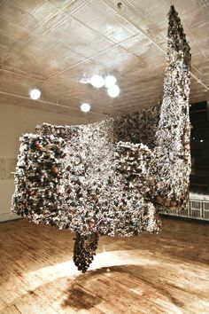 Powerful Sculptures Designed From Old Newspapers - My Modern Met
