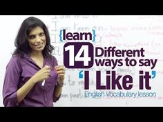 "How to say ""I like it"" in different ways. Ways to say you don't like something. - learn English,communication,vocabulary,english"