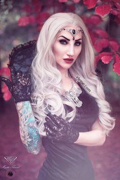 Singer/Model/Edit: Eleine Photo: Rikard Ekberg Neckcollar: Mystic Thread Wig: Black Candy Fashion Headchain: Nocturne Jewellery Necklace: Wonderlandmc Welcome to Gothic and Amazing | www.gothicandamazing.com