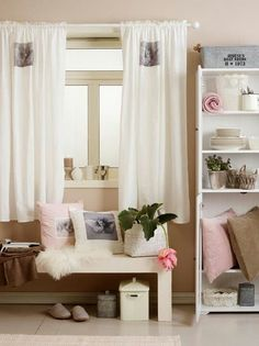 Kid Interiør Wattpad, Rooms Ideas, Curtains, Bed, Fanfiction, Furniture, Home Decor, Blinds, Decoration Home