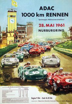 1961 ADAC 1000km Rennen - Nürburgring
