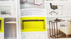IKEA share printed content across social media #Marketing #Social Media #Design