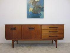 Austin: Vintage Teak MCM Credenza  - http://furnishlyst.com/listings/989833