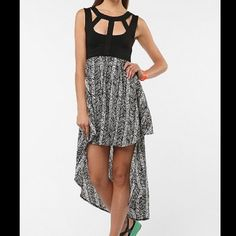 Cut out straps high low dress Brand new never worn. Ask for more pics if interested! Dresses High Low