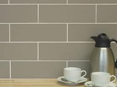 Tile Name: Scala  Product Code:  Material: Ceramic  Suitable for: Kitchen, Bathroom, Wall  Size: 300mm x 100mm  Price: 32.50 GBP per sqm  In stock: To Order  Description:    A contemporary, matt tile available in 5 colours: White, black, light grey, beige and creme.    A matching floor tile is available, as well as a co-ordinating brick mosaic.