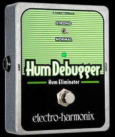 Electro Harmonix Hum Debugger Noise Cancelling Pedal