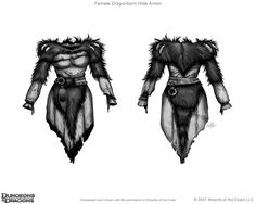 Female Dragonborn Hide Armor (unreleased) Wizards of the Coast Dungeons and Dragons Character Visualizer Art Director: Stacy Longstreet Digital This unreleased art is shown with the permission of W. Female Dragonborn, Dnd Dragonborn, Wolf Book, The Warlocks, Female Armor, Dungeons And Dragons Characters, Body Drawing, Body Reference, Wizards Of The Coast