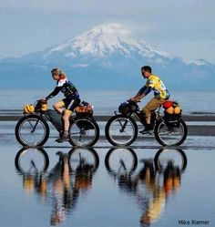 Bicycle reflections.. Loving the clarity of life !!!