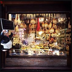La Baita Formaggi in Bologna, Emilia-Romagna A tour of Bologna's ancient market that crisscrosses the backstreets behind the landmark Piazza Maggiore is a must for anyone interested in food, from the bustling fruit and vegetable stalls to salumerie where the seductive aroma of prosciutto and mortadella wafts out on to the street. La Baita is the most renowned cheese shop, and at lunchtime shoppers can stop off for a proper meal of affettati (cold cuts), not just fabulous cheeses like a…