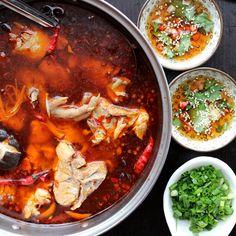 Chicken Hot Pot(辣子鸡火锅) – China Sichuan Food