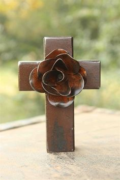 This cross is stunning! It's by a line that I adore: Jan Barboglio. Even though this cross is small in size, it makes a statement! This is one of my favorite things to give as a gift!