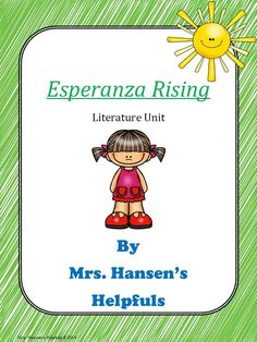 I have used this unit so many times. Esperanza Rising by Pam Munoz is a fantastic book.  This literature unit can enhance instruction and be used in Battle of the Books.   https://www.teacherspayteachers.com/Product/Esperanza-Rising-Literature-Unit-135653