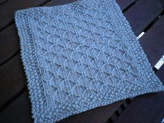 Ravelry: A Quilted Wash Cloth pattern by Ann Lim