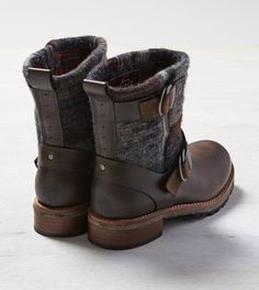 Brown Woolrich Baltimore Boot
