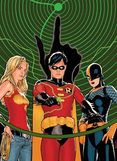 Teen Titans by Ryan Sook *