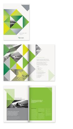 Repeated triangles and yellow-greens.