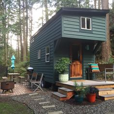 This IS  Source IG @guemes.tinyhouse