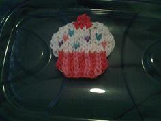 Mural cupcake made bij Louise