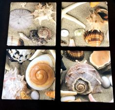 A personal favorite from my Etsy shop https://www.etsy.com/listing/244288521/tile-coasters-seashell-coasters-beach